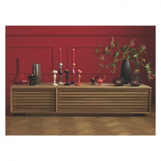 Max Oiled Oak Large Tv Stand With Slatted Front Large Tv Stands Tv Stand Designs Large Tv