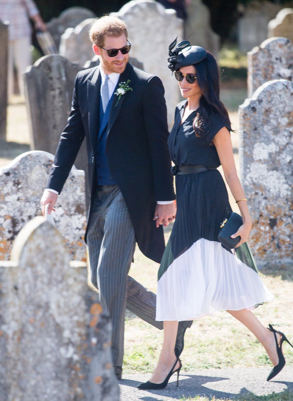 Meghan Markle Attends A Friend S Wedding With Prince Harry As The Royal Family Wish Her Hy Birthday