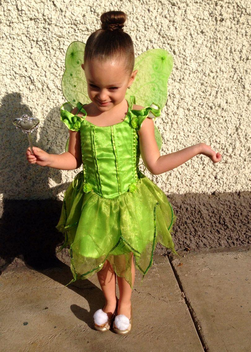 Tinkerbell Toddler Costumes Disney Dresses Kids Dress [ 1136 x 810 Pixel ]