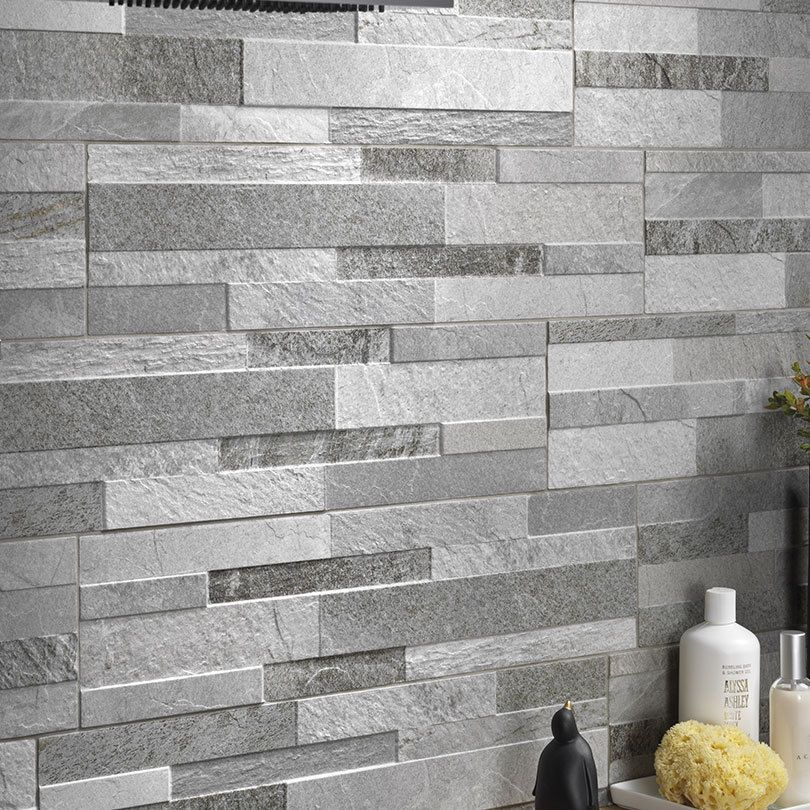 Porcelain Tiles  Part of our Cubics Split Face Effect range