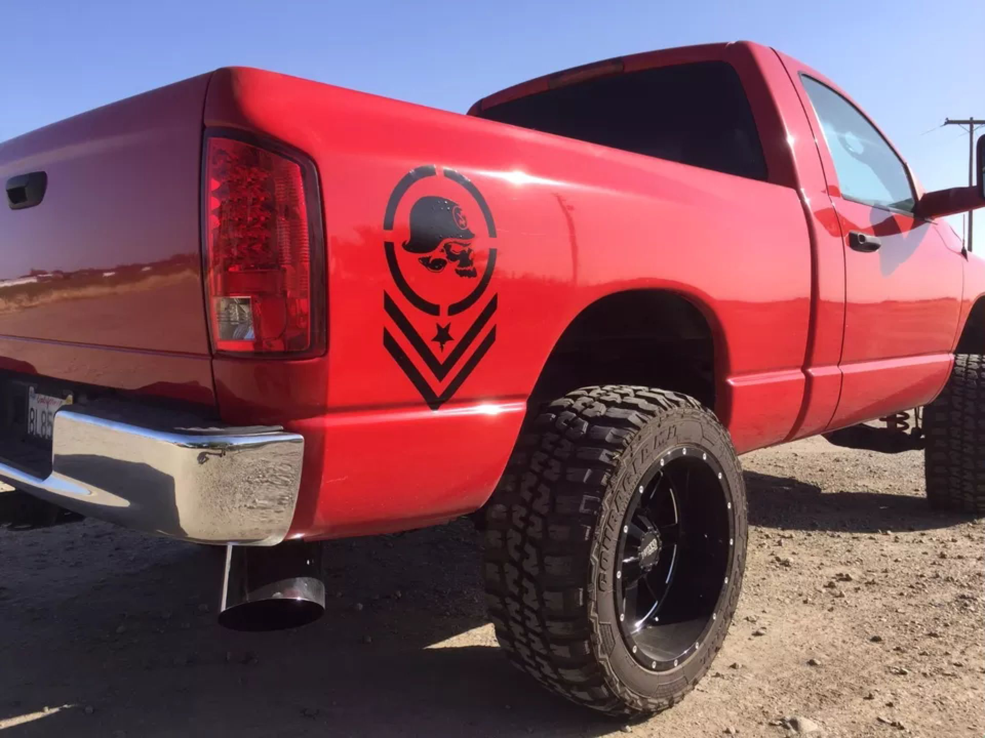 Pin By Brittany Jade On Truck Decals Pinterest Truck Decals - F250 decalsmulisha skullxwindow bed decal decals f f ram