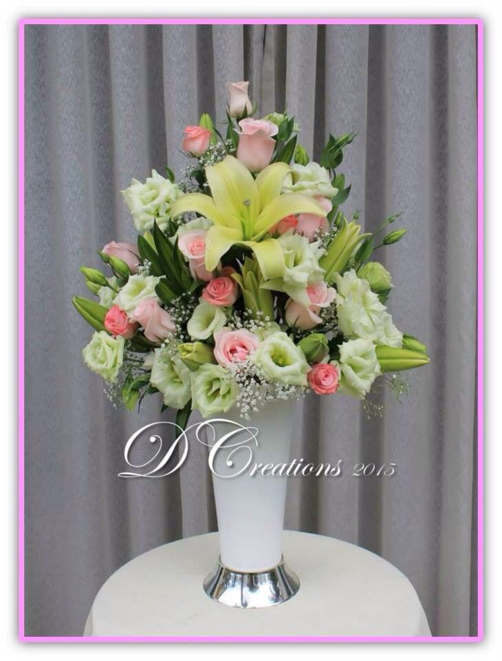 Lilies and roses sweet combination floral