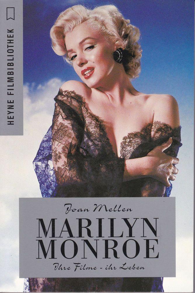 """""""Marilyn Monroe: Ihre Filme - Ihr Leben"""" - by Joan Mellen. Heyne Filmbibliothek, Germany, 1997."""