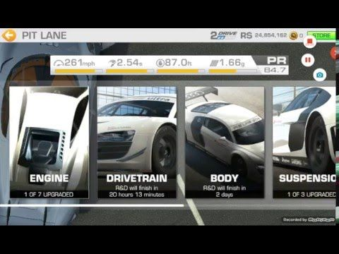 Real Racing 3 Tutorial Avoid Unnecessary Upgrades Real Racing