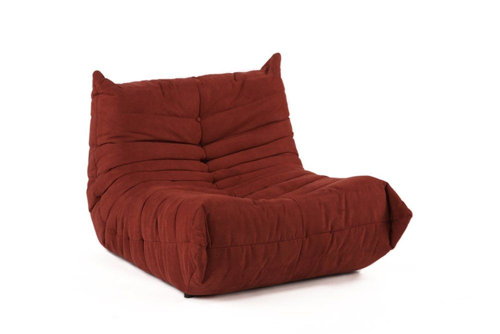 Alphaville downlow chair red oversized
