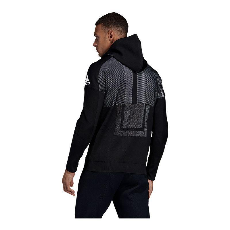 adidas Men's ZNE Hybrid Full Zip Hoodie in 2019 | Adidas men