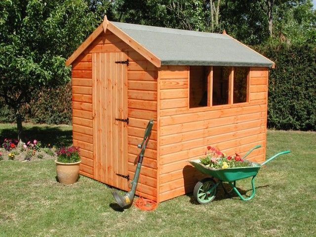 ▷ Comment Construire son abri de jardin en bois u2013 astuces et photos ? - construire une cabane de jardin en bois
