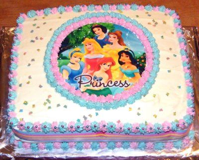 Image Detail For Princess Birthday Cakes Pictures
