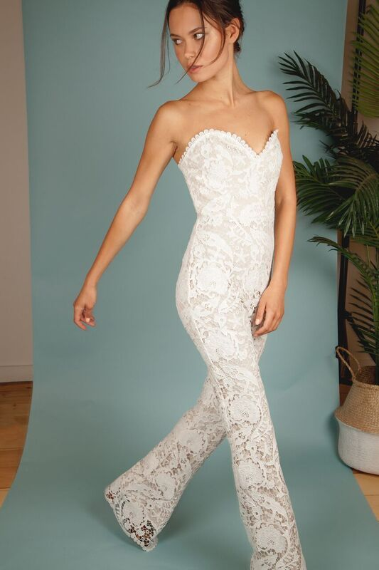 3b4c9cd53c79 The ASHER Jumpsuit in WHITE  StoneColdFox
