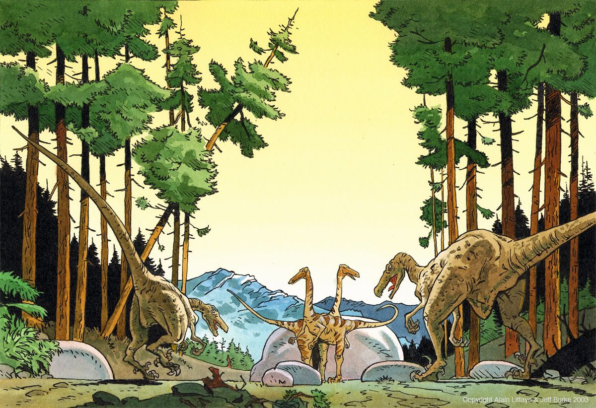 dinosaur scene - Buscar con Google