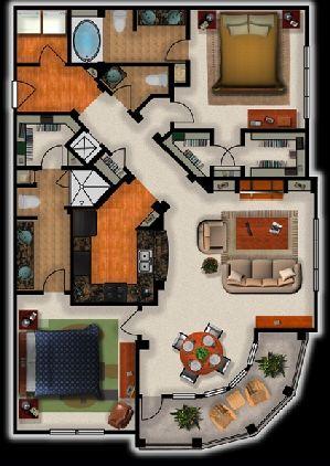 Floor Plan Metropolitan Apartments In North Little Rock Arkansas