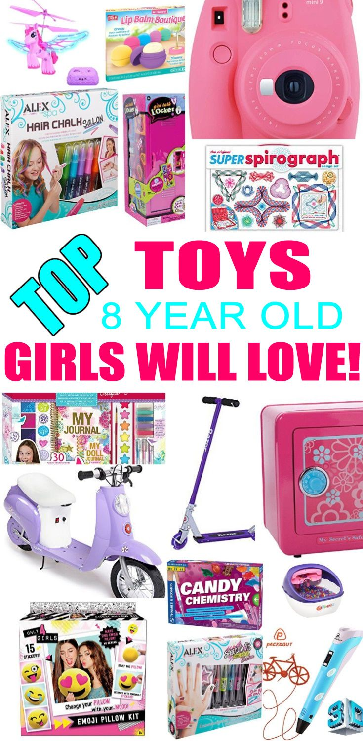 Best Toys For 8 Year Old Girls Top Toys For Girls 8 Year Old Christmas Gifts Presents For Kids