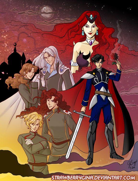 Dark Kingdom - Sailor Moon by *strawberrygina on deviantART
