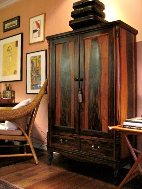 An Antique Armoire In Philippine Gong