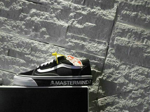 eb4ef64722 Vans MASTERMIND T30 Vans Old Skool Black SBTG Custom Skateboard Shoe Vans  For Sale  Vans
