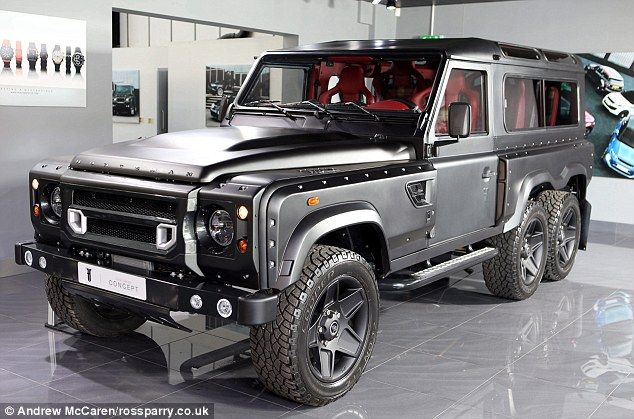 how to put land rover in 4 wheel drive
