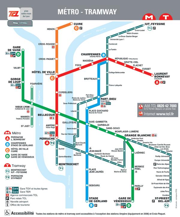 Lyon France Metro Map.Plan Du Metro De Lyon Authres French Fle Blogposts Lyon Lyon