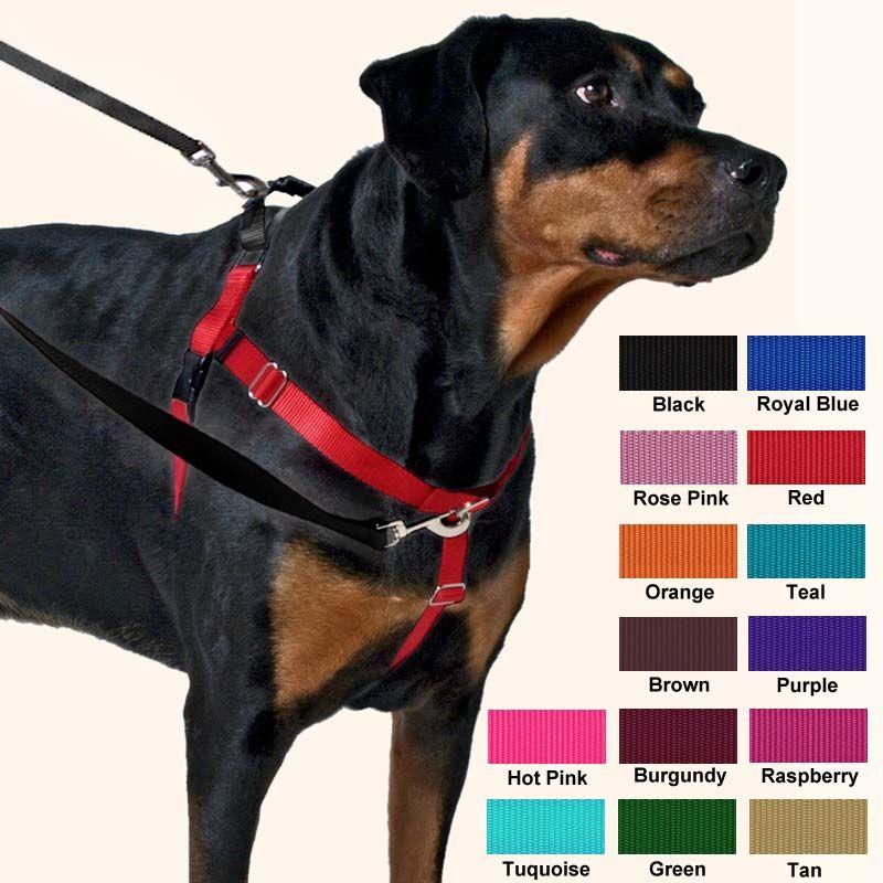 Freedom Harness No Pull Dog Harness Multi Use Velvet Lining
