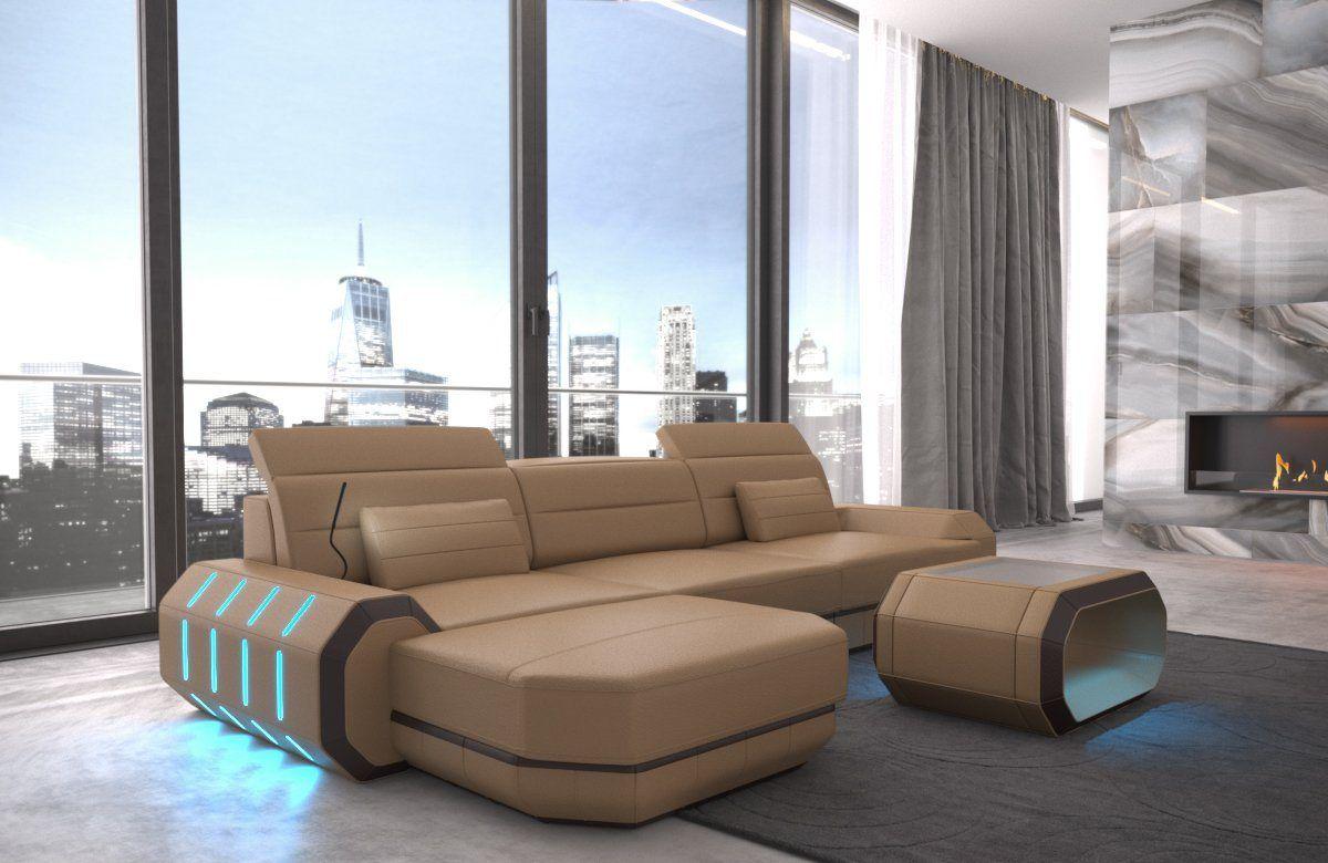 Sofa Dreams Ecksofa Roma L Form Modernes Design Exklusive