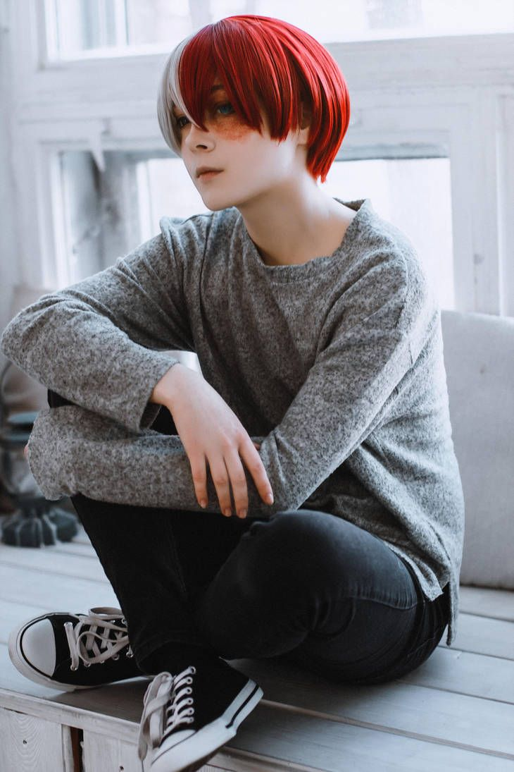 Photo of Todoroki Shoto. Red Light Escape. by alutarion on DeviantArt