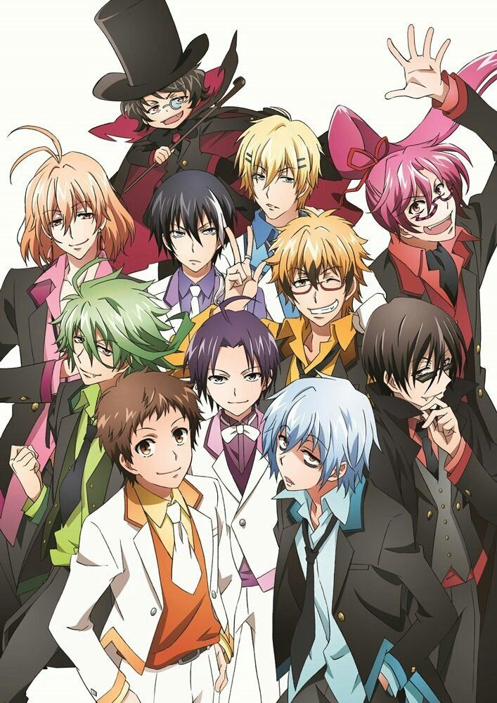 Servamp Personajes de anime, Wallpaper de anime, Arte de