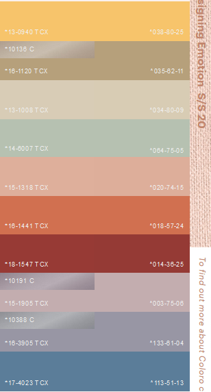 SS20 COLOUR | Trends 2020 in 2019 | Color trends, Spring ...