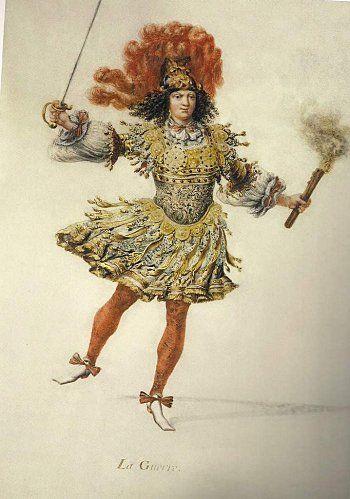 Les Noces de Pélée et de Téthis - Costume de La Guerre pour le Roi
