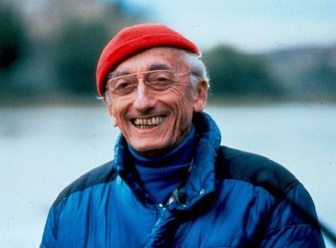 Young Jacque Cousteau