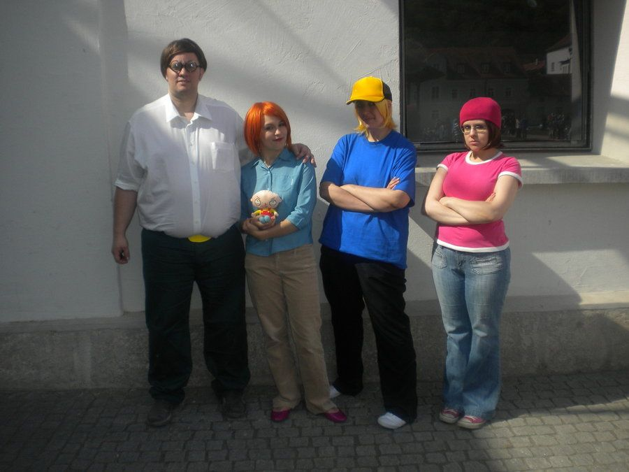 Peter And Meg Griffin From Family Guy Costume With Glasses By