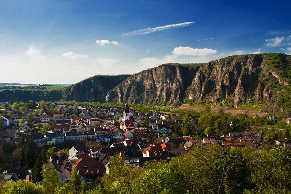 ein herrliches panorama: bad münster am stein - ebernburg. diese ... - Bad Mit Steine