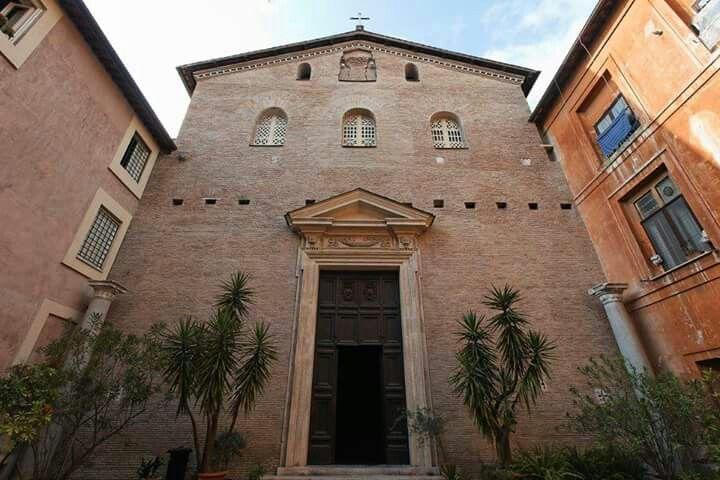 facies basilica santa pressede Roma...