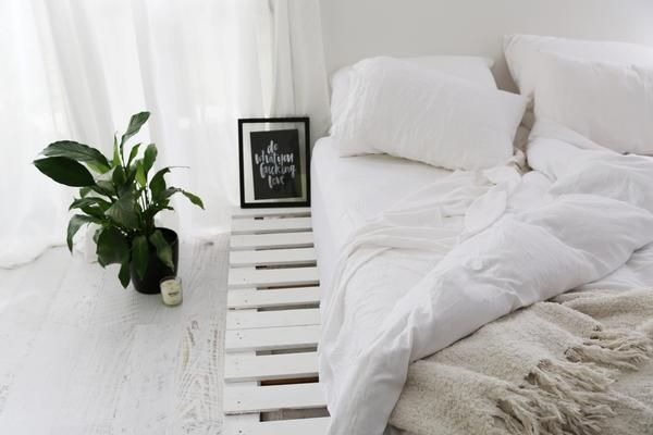 Photo of HOW I MADE MY PALLET BED