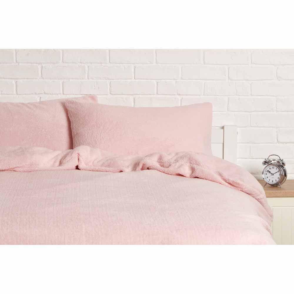 Snuggle Bedding Teddy Fleece Duvet