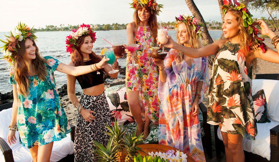 Lava Beach Club Show Me Your Mumu Luau Outfits Bachelorette