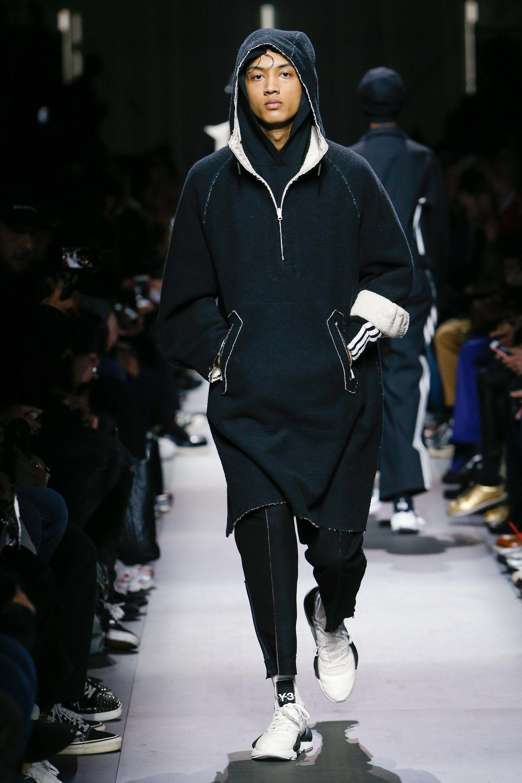 75c89ffb25b21 Y-3 Fall 2018 Menswear Collection - Vogue