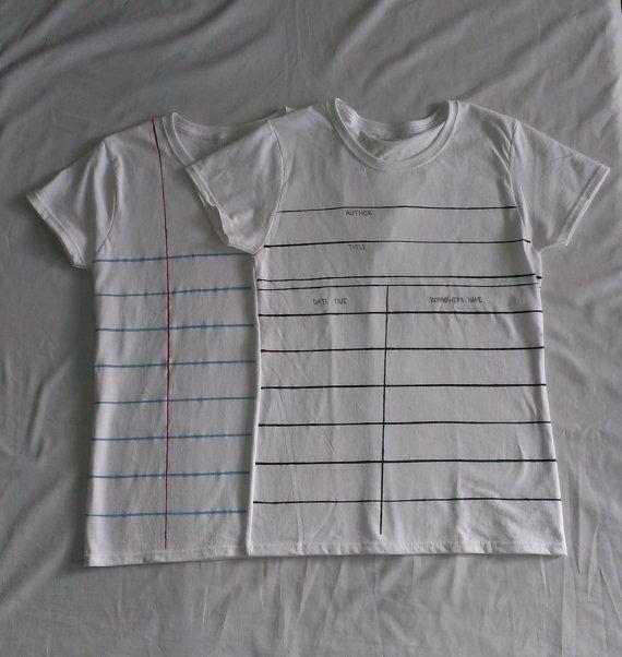 t-shirts (etsy shop: ShopJustWatch)