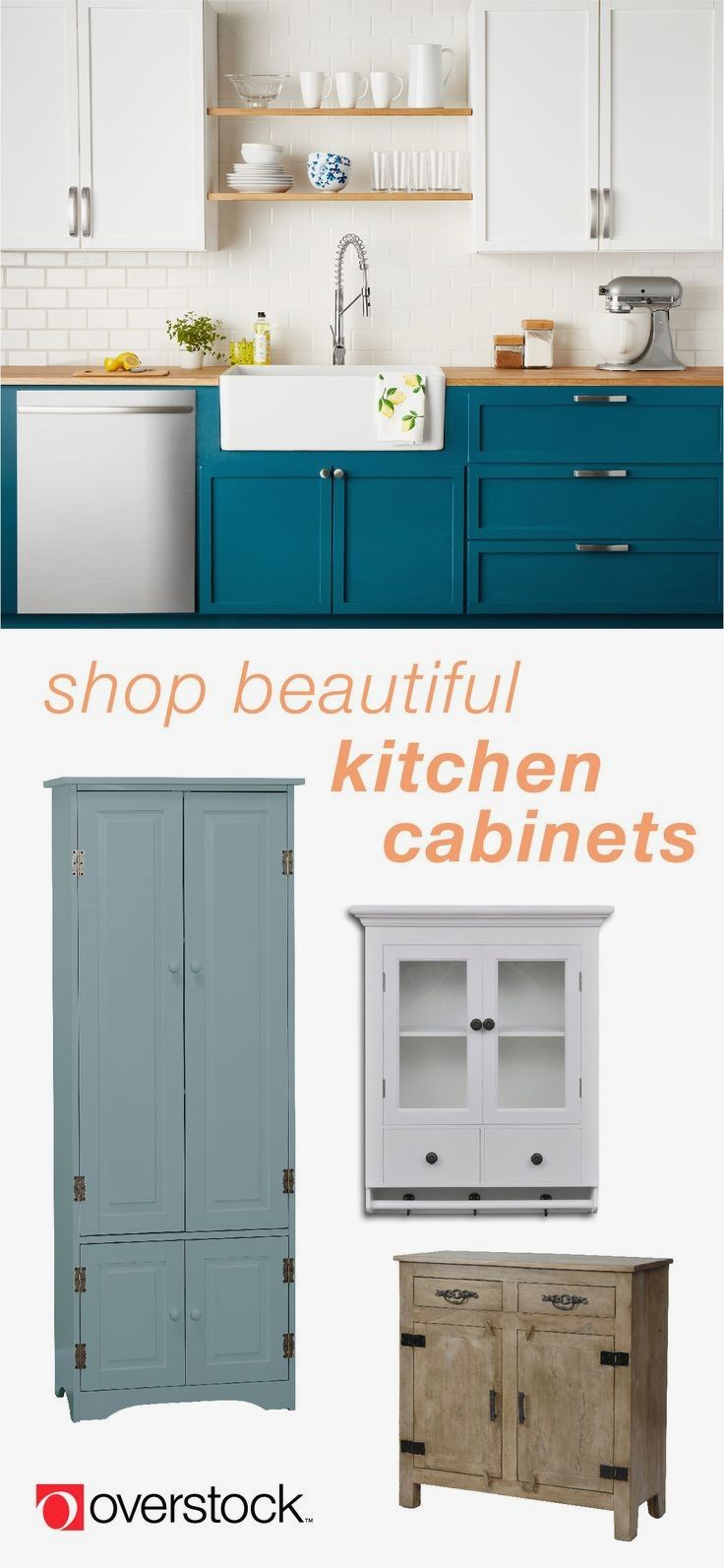 The Basics of Buying Kitchen Cabinets - CHECK THE PICTURE for Lots ...