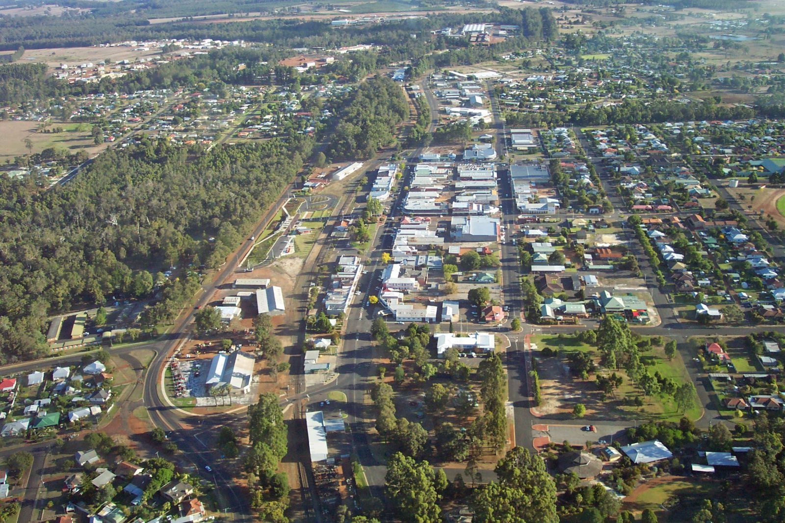 West Australia Shire of Manjimup located in the South West