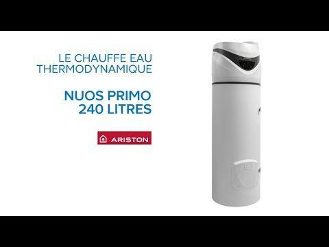 Chauffe-eau thermodynamique Nuos Primo 240 Litres ARISTON - Castorama