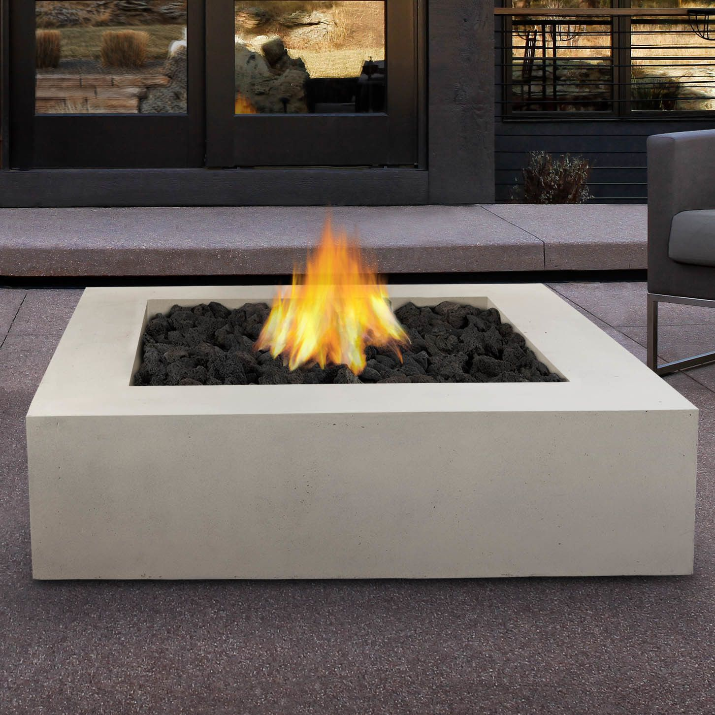 Mezzo propane fire pit table for the home pinterest fire pit