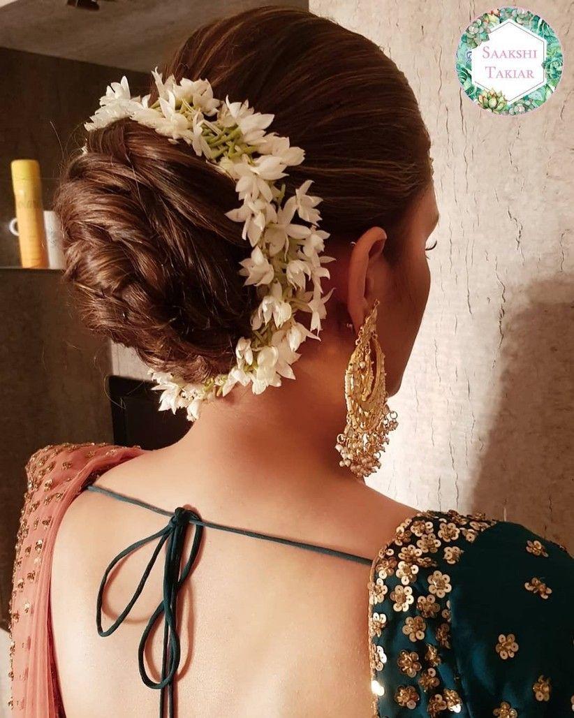 wedding hairstyle indian over 50 - trending indian wedding