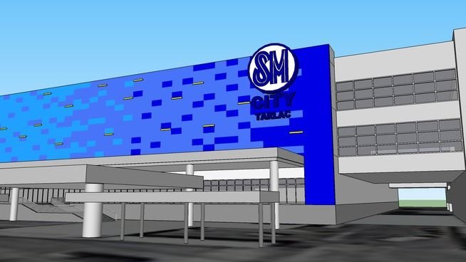 Large preview of 3D Model of SM City Tarlac