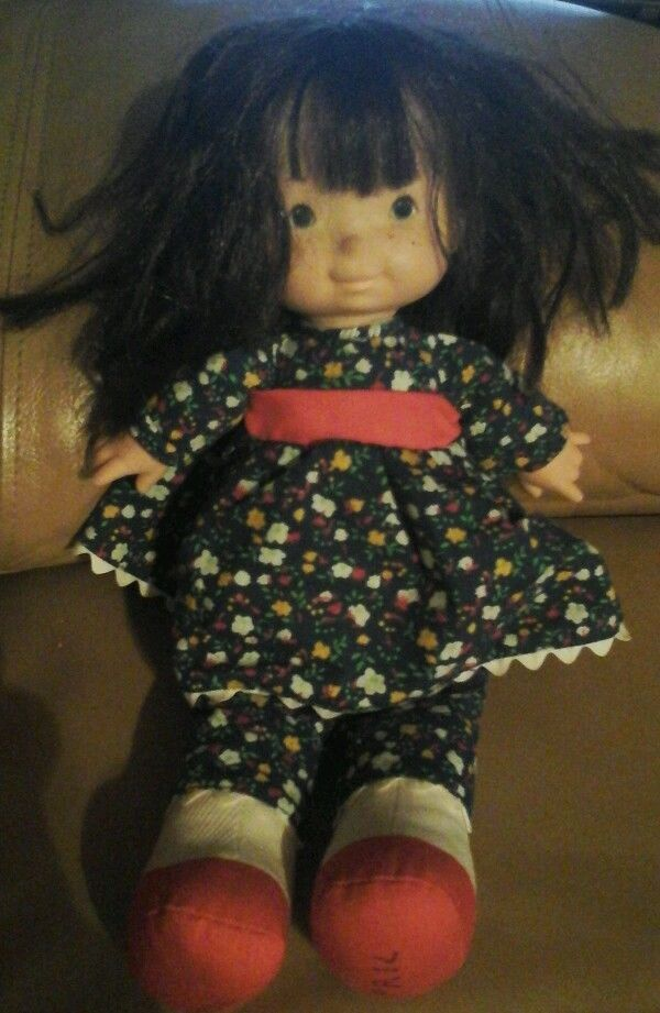Vintage Fisher Price 1973 Lapsitter Jenny Doll 201