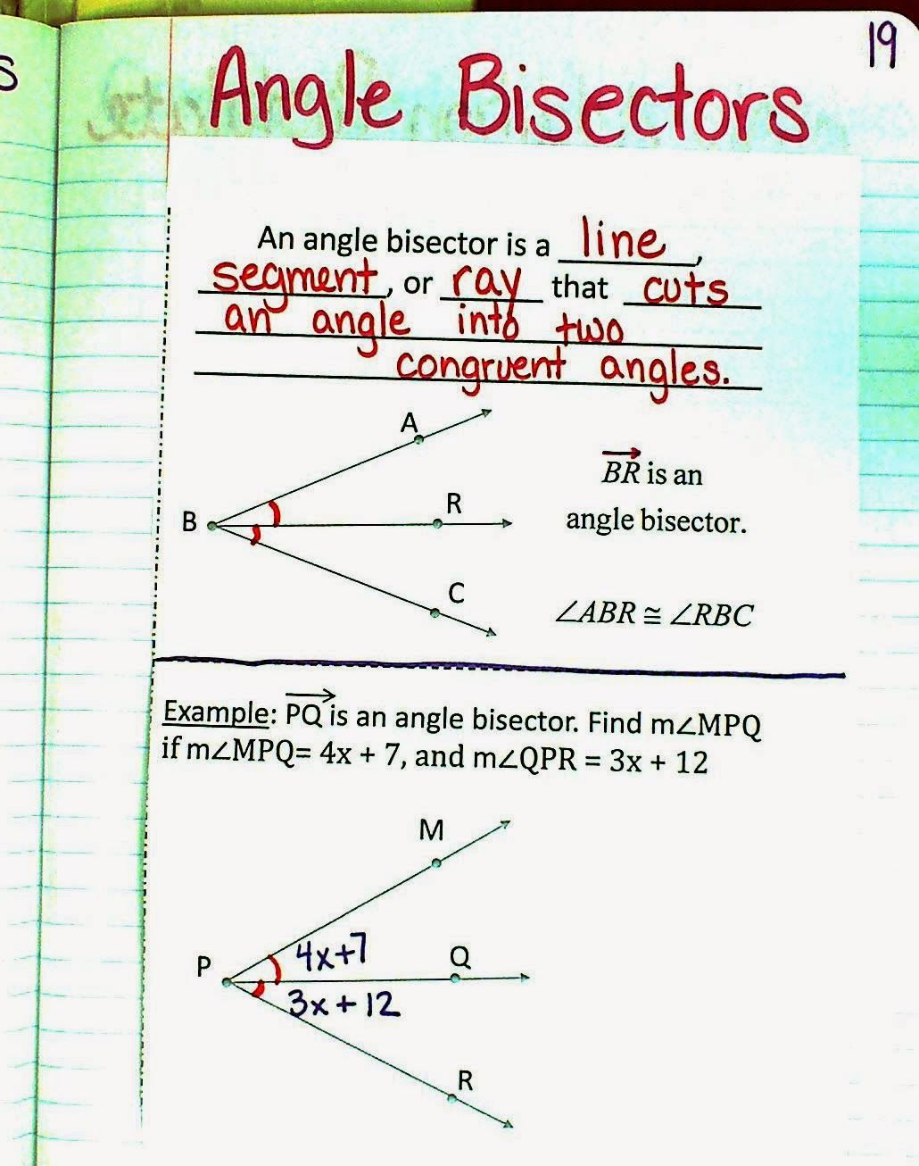 Worksheets Angle Pairs Worksheet i love her wheel for special angle pairs in this post great stuff on angle