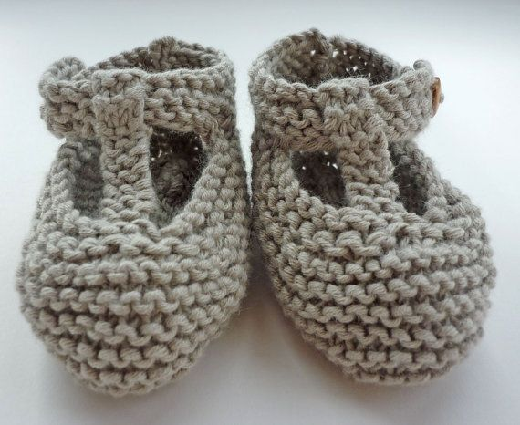 Baby Booties Knitting Pattern Baby Shoes PDF Knitting | escarpines ...