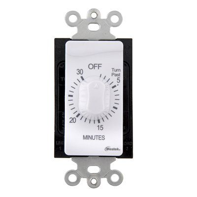 Westek Timers Photo Cells Control Tmsw30mwcan Mechanical Residential Hardwired Timer Countdown Timer Battery Operated Lights Plates On Wall