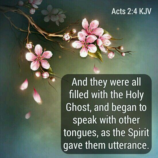 acts 2 4 kjv daily bread pinterest cherry blossom cherry and
