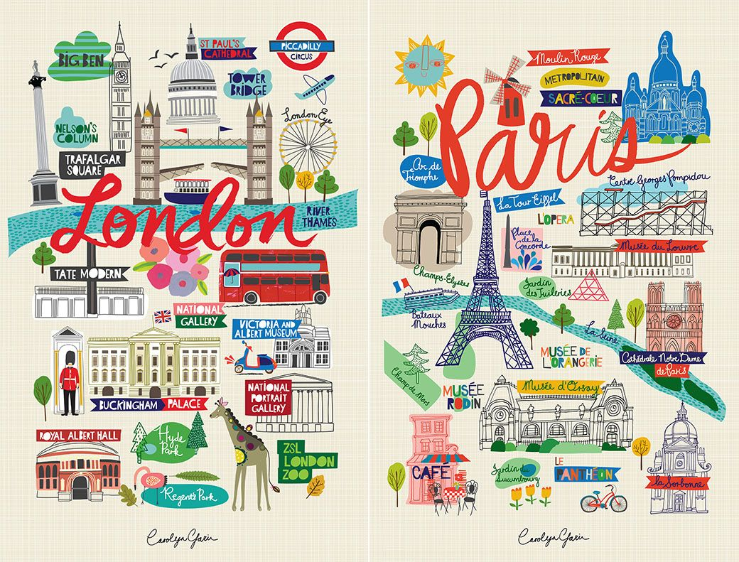 city wall prints from ecojot designer carolyn gavin blog