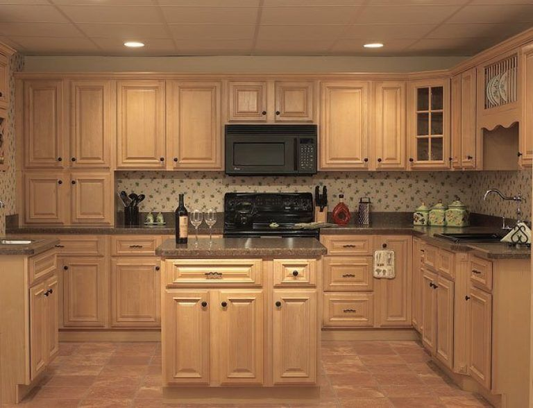 Natural Maple Kitchen Cabinets Kitchen Ideas With Natural Maple ...