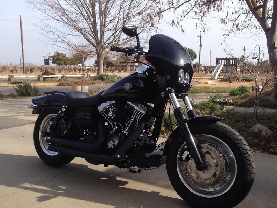 2008-2017 FatBob 'Bullit' fairing | Motorcycle Stuff